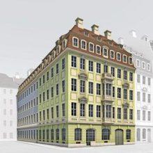 """Neue Pläne für Wiederaufbau des """"Chiapponischen Hauses"""" in Dresden"""