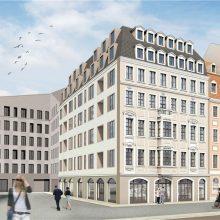 Neumarkt-Haus erhält historische Fassade