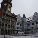Neu erschaffene Renaissancekultur im Großen Schlosshof