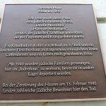 Erinnerungstafel über die jüdische Geschichte des Trierschen Hauses