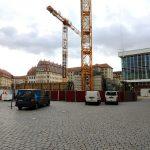 Quartier VI - Blick auf die Baustelle