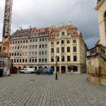 Bald wird der Jüdenhof seine ursprüngliche Südseite zurück erhalten.