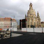 neue Baustellenzufahrt Quartier VI (Blobel-Grundstück)