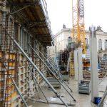 Betonschalungswände Galeriestraße QVI