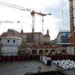 Blick auf die Baustelle vom QVI (USD)