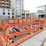 Blick auf die Baustelle vom QV-1 (KIB-Projekt)