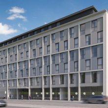 Pressemitteilung GHND zum Neubau der benchmark.Real Estate am Brückenkopf der Marienbrücke