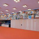Foyer 2. OG mit Wandfries aus der DDR-Zeit