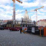 Galeriestraße mit Blick auf die Baustelle der USD