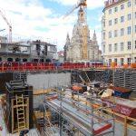 Arbeiten an den Untergeschossen im Quartier V-1 (KIB-Projekt)