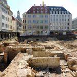 Künftiges Quartier VII-1 mit archäologischen Ausgrabungen