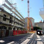 Engere Stadträume im Entstehen (hier Galeriestraße)