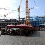 Blick auf das Quartier VI vom Jüdenhof aus