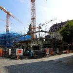KIB-Projekt von der Wilsdruffer Straße aus gesehen