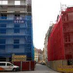 Blick in die Frauenstraße zum Neumarkt hin von der Galeriestraße aus