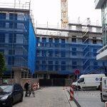 Rosmaringasse und Neubauten hinter dem Kulturpalast