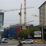Das Quartier V-1 und VI von der Wilsdruffer Straße aus