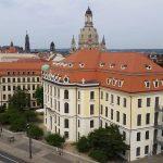 Blick Richtung Neumarkt vom Pirnaischen Platz aus