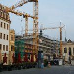 Neumarkt Westseite mit neuer Platzfront (Quartier VI)