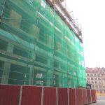 Blobel-Baustelle zur Frauenstraße zu
