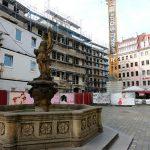 Jüdenhof mit den beiden Quartieren VI und VII-2 (bereits fertig gestellt)