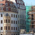 Heinrich-Schütz-Haus, Köhlersches Haus und Baustelle vom Günter-Blobel-Haus