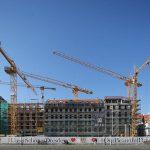 Quartier VI mit den Bauprojekten von USD und Günter Blobel