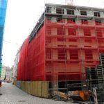 KIB Baustelle QV-1 zur Frauenstraße zu