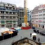 Jüdenhof mit den beiden neuen Quartieren VI und VII-2