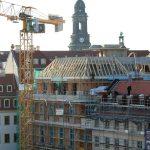 Dachstuhl und Dachzonengestaltung vom Blobelhaus