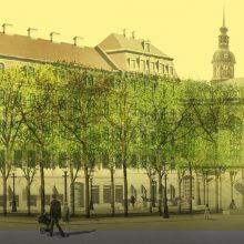 Grünes Gewandhaus – neue Gestaltung der Fläche am Neumarkt Dresden