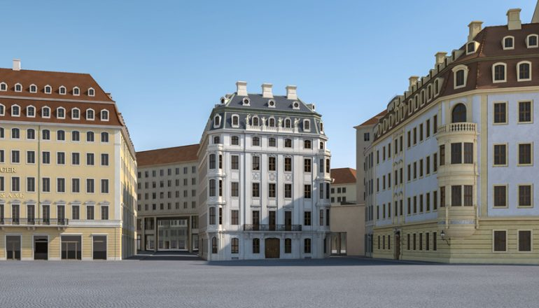 PRESSEMITTEILUNG GHND: Wiederaufbau Hotel Stadt Rom am Dresdner Neumarkt