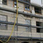 Fassadenarbeiten (Dämmung) am Chiapponischen Haus