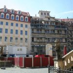 """Jüdenhof mit """"Neumarkt Palais City One"""""""