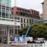 Moritzhaus vom KIP-Projekt an der Einmündung Wilsdruffer- zur Gewandhausstraße