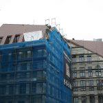 Eckgebäude von Stellwerk-Architeken im Quartier VI zur Gewandhausgasse (hinter dem Kulturpalast)
