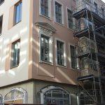 Chiapponisches Haus - Ecksituation mit zwei verschiedenen Fassaden