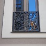 KIB-Projekt: Industriell hergestelltes Schmuckgitter in moderner Rocailleform