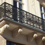 Ornamentale Metall-Balkongitter
