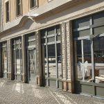 Künftiger Ladeneingang von Lange & Söhne (früher Sempersche Ausgestaltung von Elimeyers Galerie)