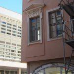 neue Nachbarn: Chiapponisches Haus und Kulturpalast (Ostfassade)