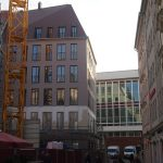 Blick vom Jüdenhof Richtung Kulturpalast