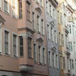 Rekonstruierte Bürgerhausfassaden in der Frauenstraße