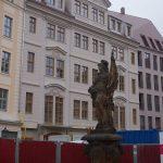 Leitbau Regimentshaus und Friedensbrunnen