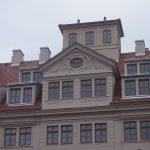 das Belevedere und das Zwerchhaus vom Regimentshaus