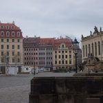 der wiedererstandene Jüdenhof von der Frauenkirche aus gesehen