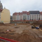 Baugrube Quartier III-2 und Rampische Straße