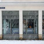 Schaufenster des ehemaligen Hofjuweliers Elimeyer - von Gottfried Semper