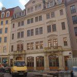 Regimentshaus mit Arbeiten am Erdgeschoss und Innenausbau