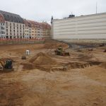 Baugrube Quartier III-2 (Palais Hoym Komplex) der CG-Gruppe